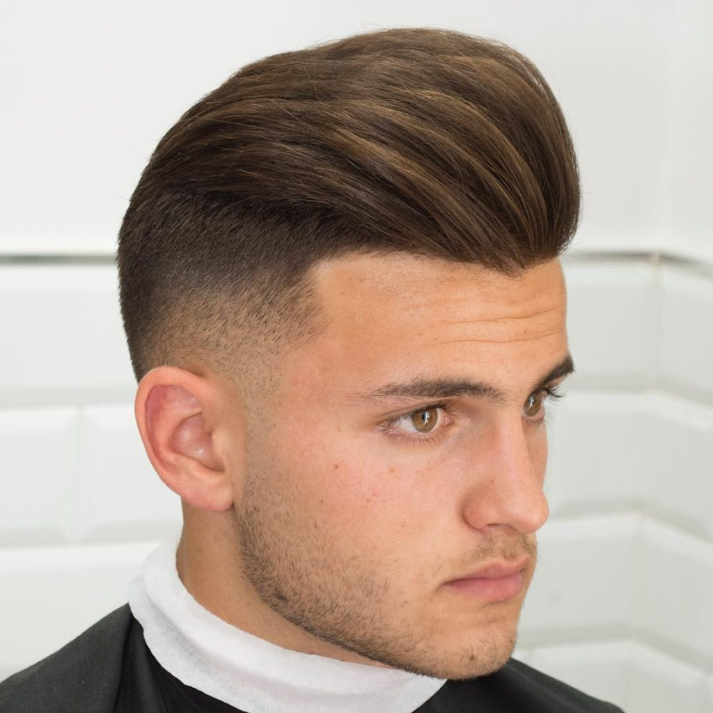 7 Dashing Pompadour Comb Over Hairstyles