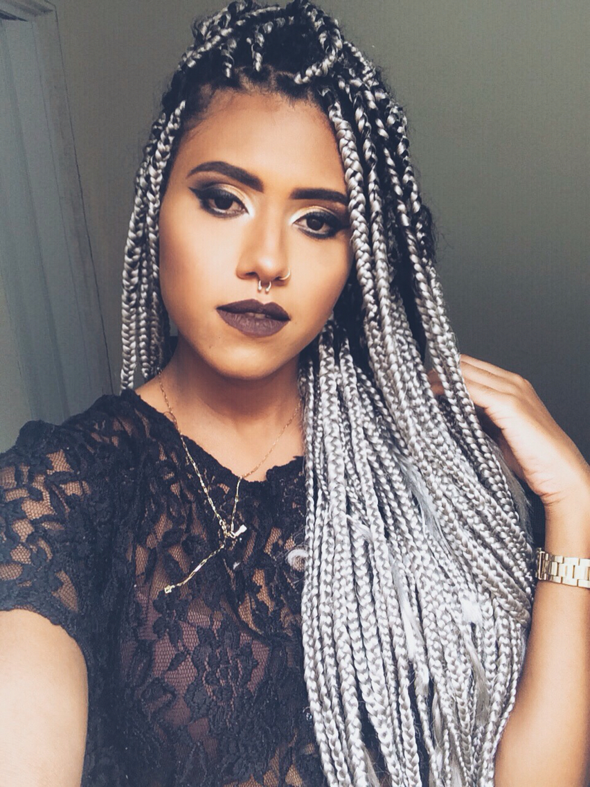 7 Bold And Big Poetic Justice Braids Styles Hair