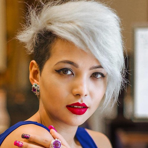 12 Awesome Pixie Cuts for Round Faces