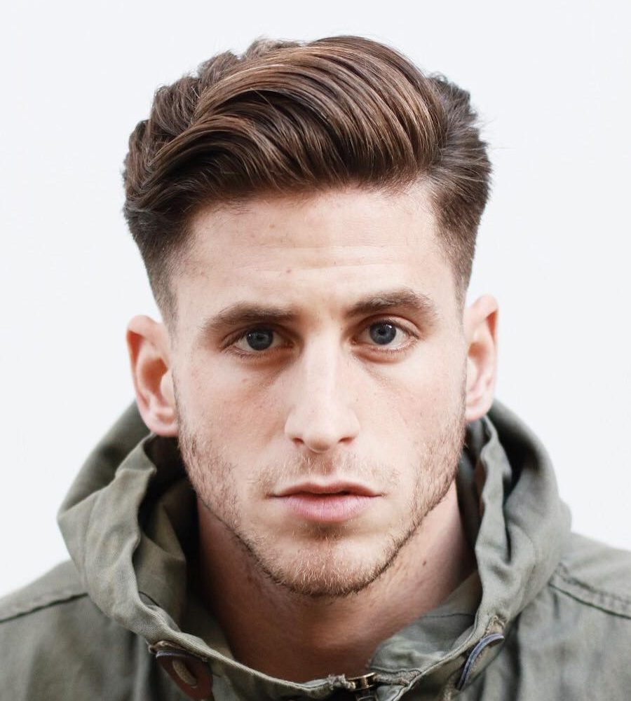 6 Stylish Comb Over Haircuts For Men Hair Braiding Styles